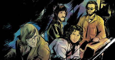"""INYIM Media """"Back To The Future"""" Salutations: The Doors Unleash Excerpt From 'Morrison Hotel' Comic Chronicling Legendary Miami 1969 Show!"""