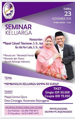 Flyer Seminar Keluarga