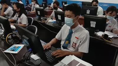 Ujian Kompetensi Keahlian (UKK) SMK TI Bali Global Badung