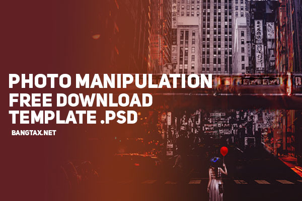 Photo Manipulation - Free Download Template Photoshop - Part 1
