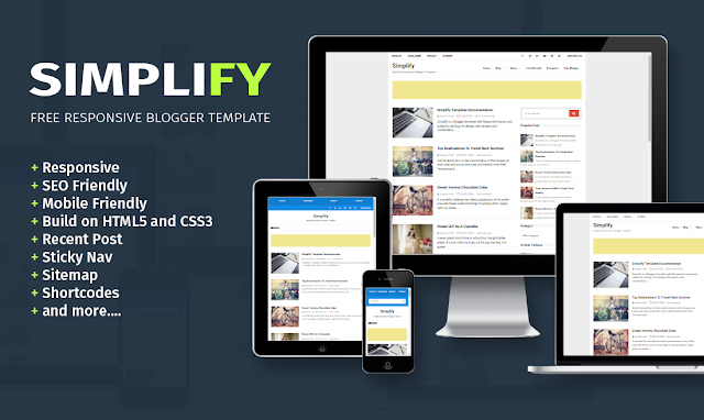 Simplify Free Responsive Blogger Template