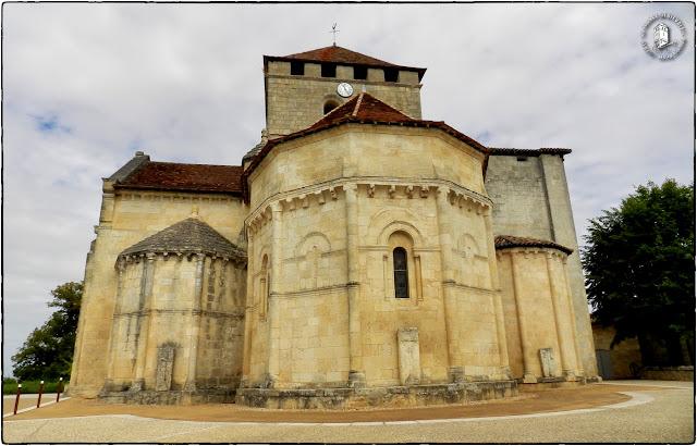 MONTAGNE (33) - Eglise romane Saint-Martin (Extérieur)