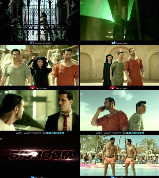 Dishoom Official Trailer 720p HD Download