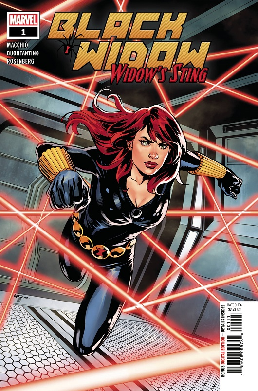 Cover of Black Widow Widows Sting #1