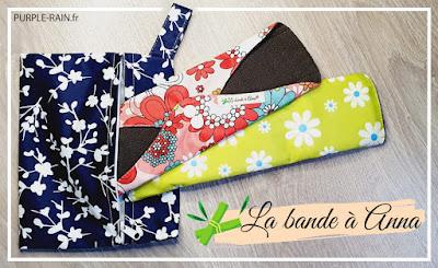 Blog PurpleRain : serviettes hygiéniques lavables - la Banda A Anna