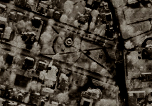 Does a 1939 aerial photograph prove the Newport Tower is a Templar Church?