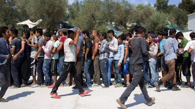 Μόρια: Μετανάστες «άδειασαν» την αποθήκη σπιτιού