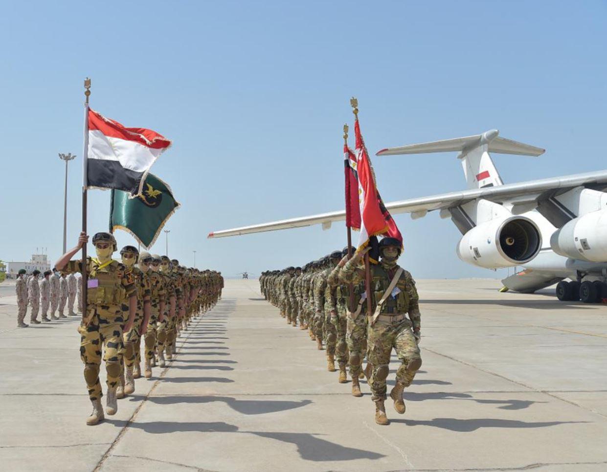 """تمرين """"زايد 3"""" العسكري بين الإمارات ومصر"""