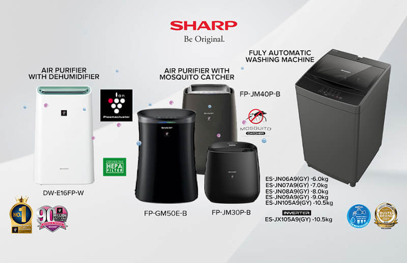 Sharp Philippines reveals different solutions for the Rainy Season
