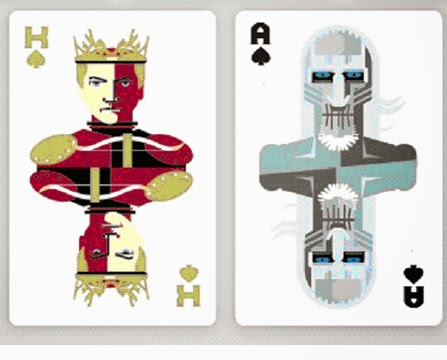 Joffrey and the White Walker - Playing Cards
