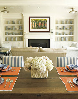 family room ideas | http://schulmanart.blogspot.com/2013/04/transforming-your-dining-room-with.html