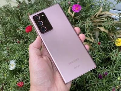 UlasanSamsung Galaxy Note 20 Ultra: Desain