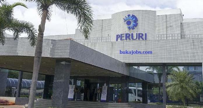 Lowongan Kerja PERUM PERURI (Perusahaan Umum Percetakan Uang Republik Indonesia) 2019