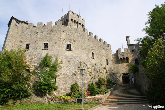 Porta di accesso alla Torre Cesta di San Marino
