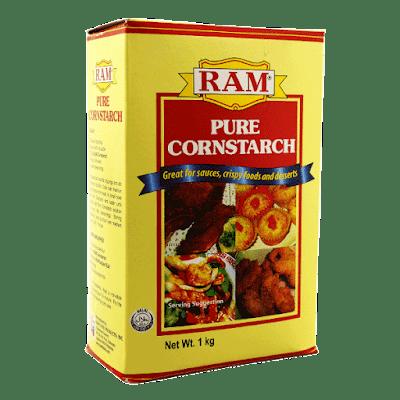 cornstarch, dry shampoo