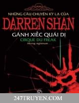 Những câu chuyện kỳ lạ của Darren Shan ( Tập 1: Gánh xiếc quái dị )