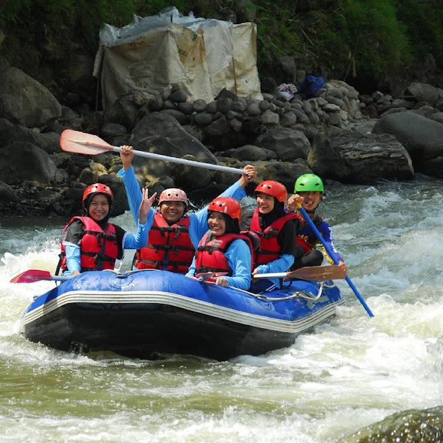 Arum Jeram Sungai Serayu