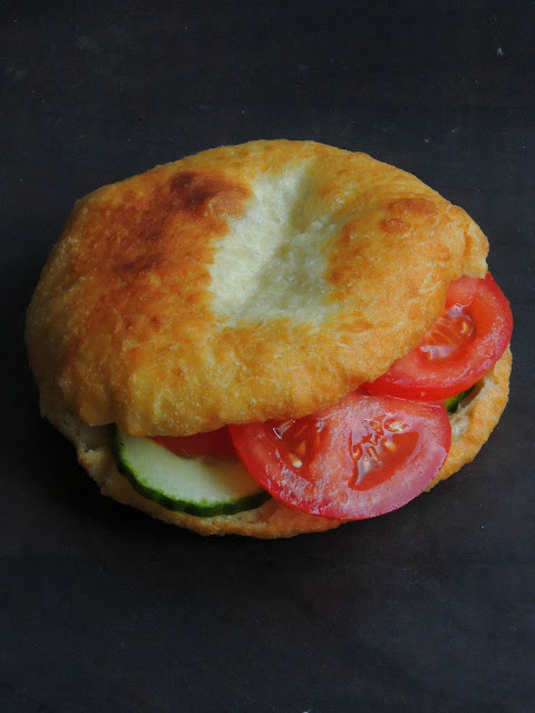 Guadeloupean Fried Bread Sandwich