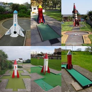 Minigolf rockets