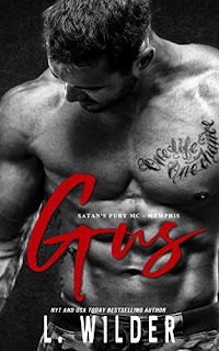 Gus: Satan's Fury MC - Memphis (Satan's Fury MC-Memphis Book 6) - action romance book promotion L. Wilder