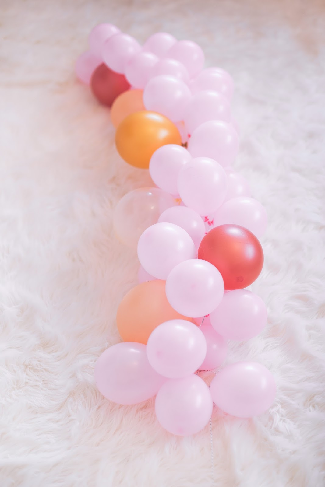How to Create a DIY Balloon Garland  by popular party planning blogger The Celebration Stylist