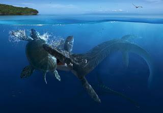 Archelon y los depredadores marinos