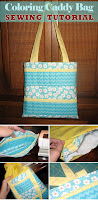 Coloring Caddy Bag Tutorial