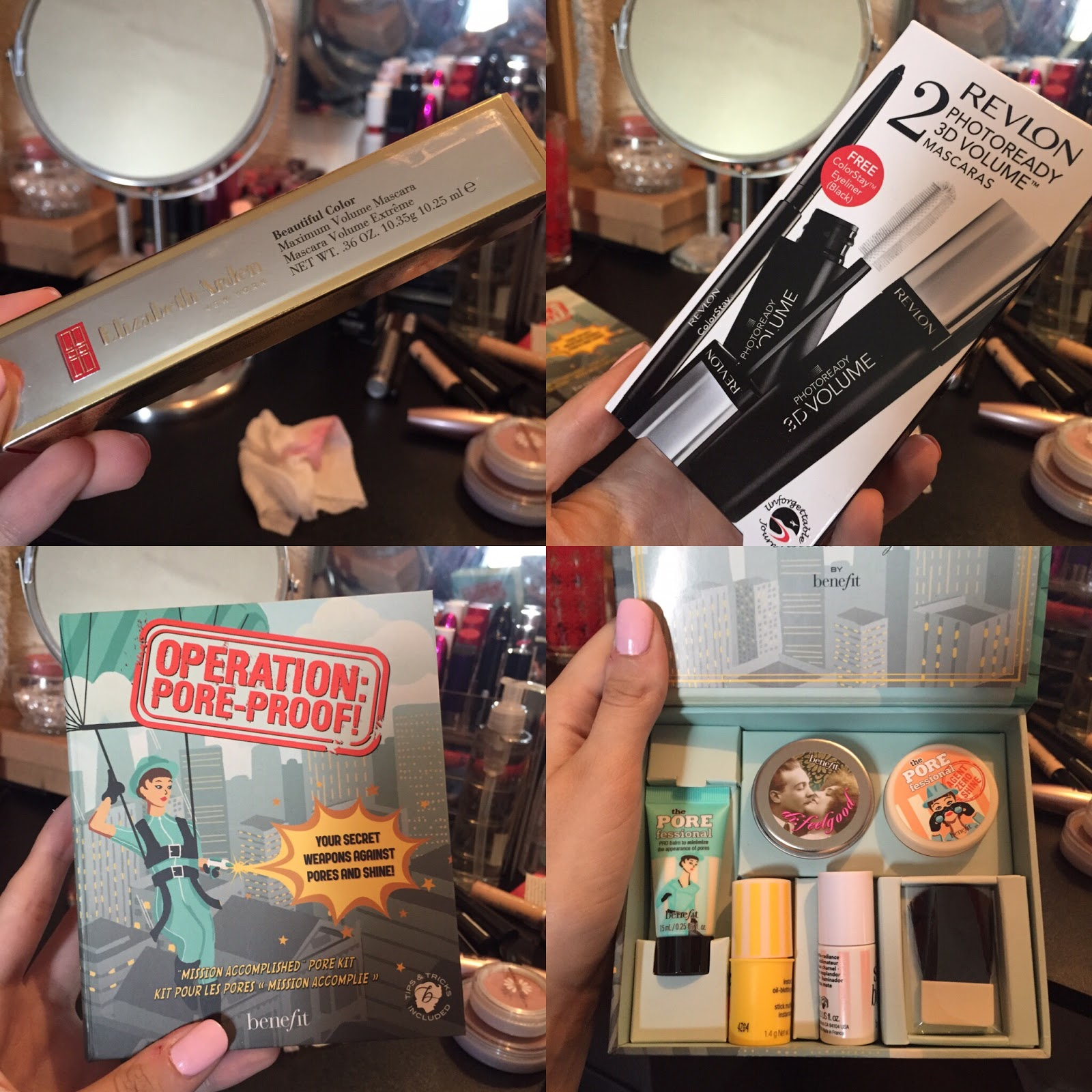 Diary And Confessions Of A Make Up Addict Boots Tkmaxx Haul Benefit Operation Pore Proof Kit I Got An Elizabeth Arden Mascara From This Retails At 22 But For 799 Which Is Amazing Also Wanted To Get The Revlon Photo Ready