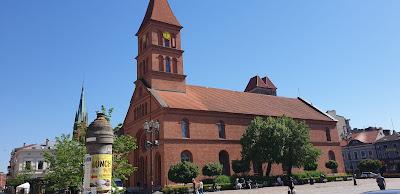 Toruń kościół ewangelicki św. Trójcy