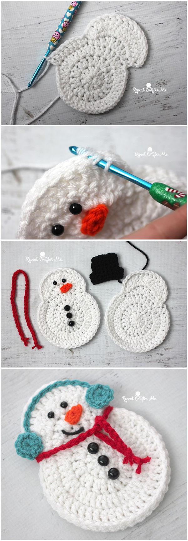 Crochet Snowman | FlowCoast