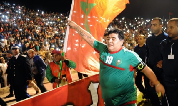 تعزيات FRMF لعائلة مارادونا وللاتحاد الآسيوي لكرة القدم