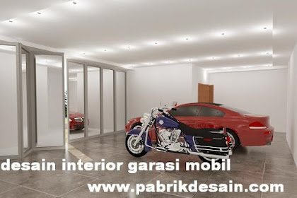 Desain garasi mobil motor mewah minimalis harga murah