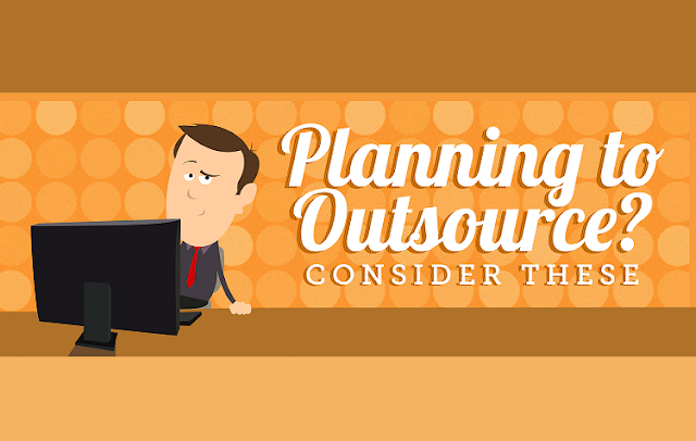 Planning To Outsource? Consider These  #Infographic