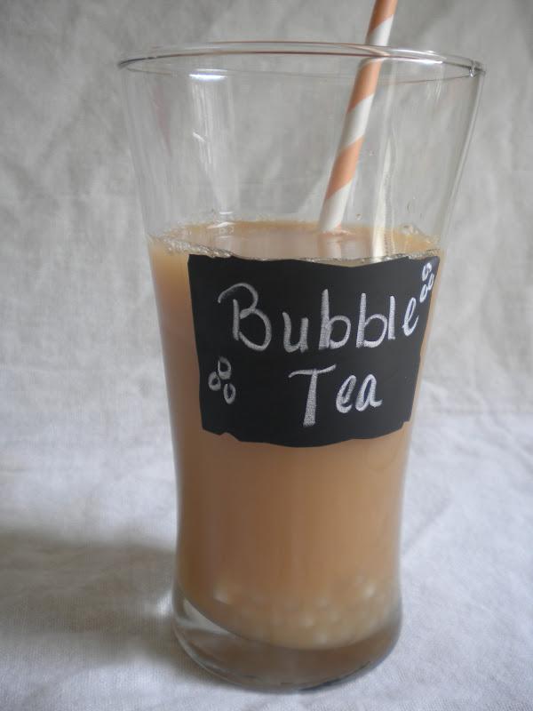 Bubble Tea (Boba) - Treats With a Twist