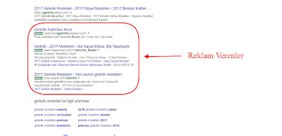 google müşteri