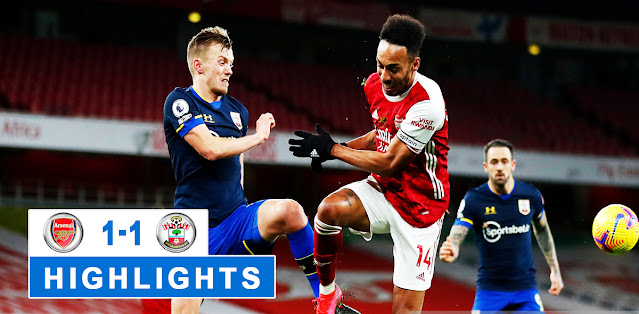 Arsenal vs Southampton Highlights