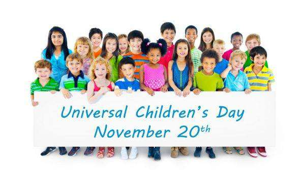 Universal Children's Day Wishes Sweet Images