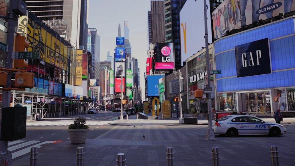New York Coronavirus Hospitalizations Keep Falling, Shutdown Extended