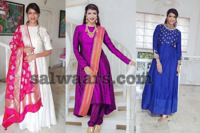 Lakshmi Manchu Designer Salwar Kameez