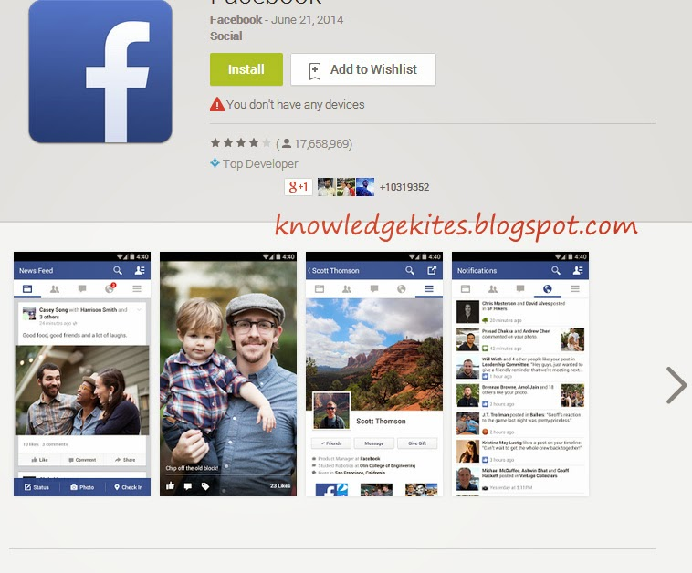 Facebook - Best Android Apps