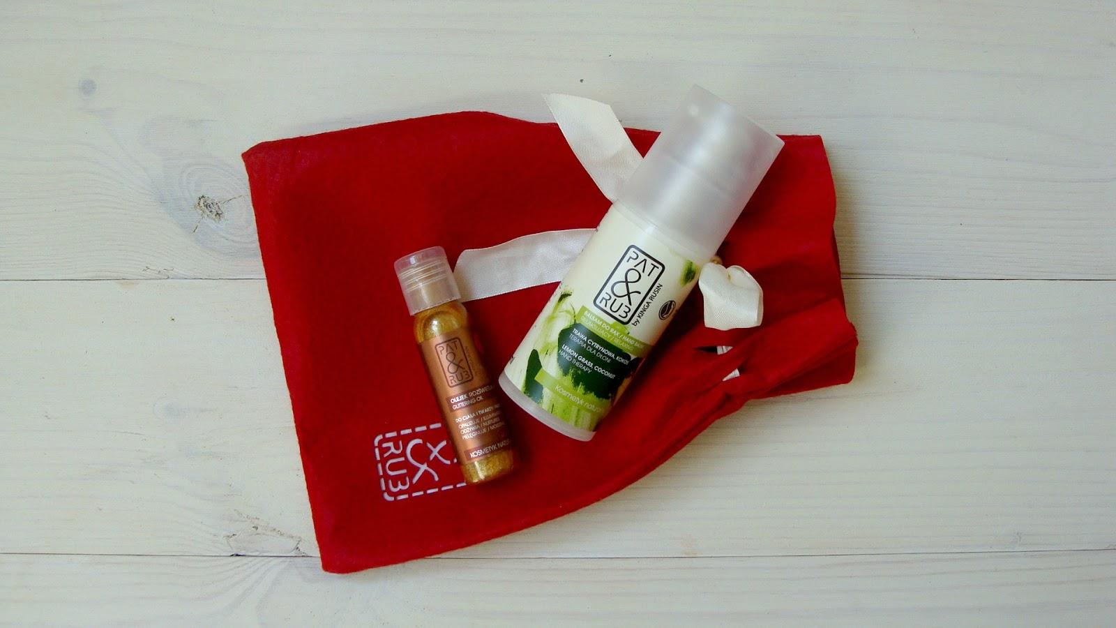 Moi letni ulubieńcy od Pat&Rub, kosmetyki Pat&Rub, kinga rusin, krem do rąk olejek rozświetlający