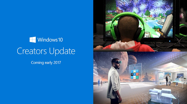 Anuncio de Windows 10 creators update