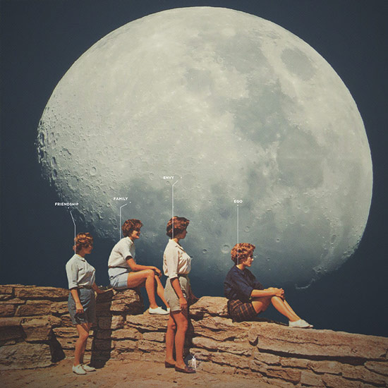 """Friends Not Friends"" by Frank Moth 