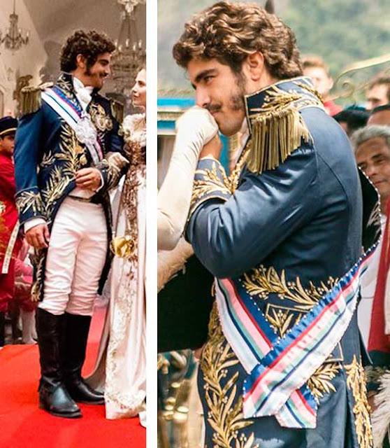 Figurino D. Pedro (Caio Castro) príncipe