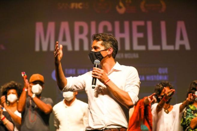 """""""É um filme sobre aqueles que resistem no Brasil agora"""", diz Wagner Moura sobre Mariguella"""