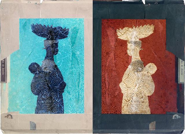 """Exposição """"Mãe Preta"""" abre temporada em São Paulo na galeria Mario Schenberg, da Funarte, entre 4 de outubro e 25 de novembro."""