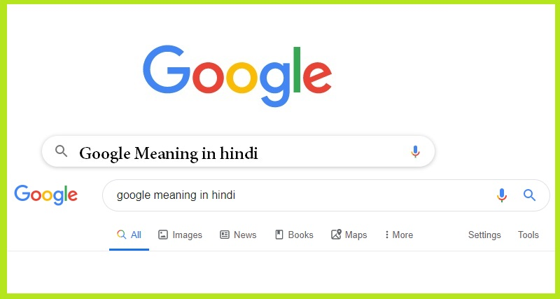 google meaning in hindi,meaning of google