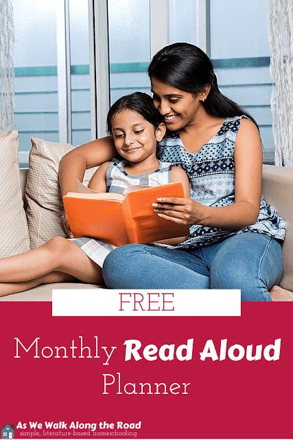 Free read aloud planner