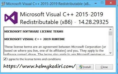 Download dan Install Microsoft C++