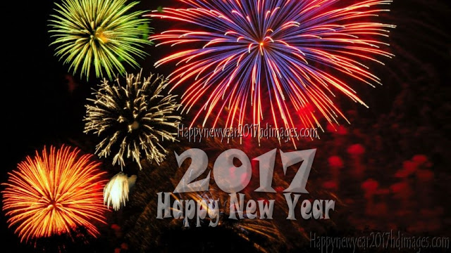 HD Happy New Year 2017 Best Fireworks Images Download Free